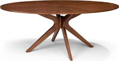 Modern Oval Dining Table (View 17 of 25)