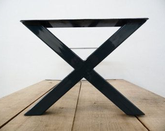 """Modern Spider Dining Table Base , 28""""h X 28"""" W X 72"""" L Throughout 2020 72"""" L Breakroom Tables And Chair Set (View 17 of 25)"""