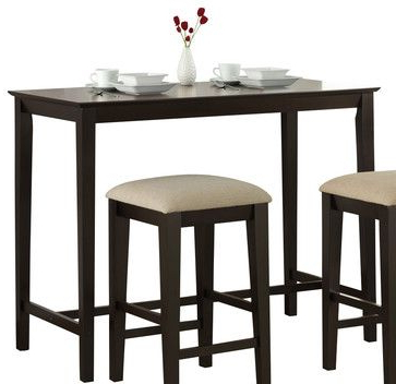 Monarch Specialties 1359 Rectangular Counter Height Table Within Most Popular Hearne Counter Height Dining Tables (View 14 of 25)
