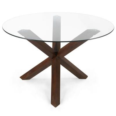 Monogram 48'' Solid Oak Pedestal Dining Tables For Well Known Poly And Bark 48 In (View 20 of 25)