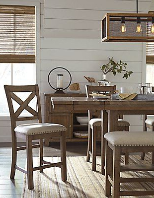 Moriville 6 Piece Counter Height Dining Room (View 21 of 25)
