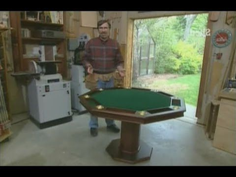 """Most Current 48"""" 6 – Player Poker Tables Within How To Build A Poker Table For Up To 8 Players! – Youtube (View 3 of 25)"""