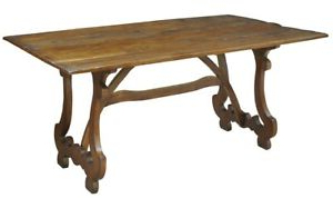 """Most Current Bekasi 63'' Dining Tables Throughout 63"""" Dorotea Dining Table Solid Walnut Old Reclaimed Wood (View 3 of 25)"""