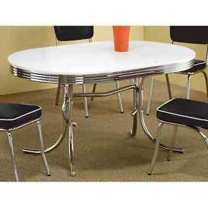 Most Current Classic Dining Tables Intended For Retro Dining Table Vintage 50's Mid Century Modern Style (View 13 of 25)
