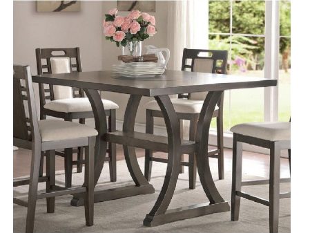 Most Current Counter Height Table In Grey – Shop For Affordable Home Within Overstreet Bar Height Dining Tables (View 25 of 25)