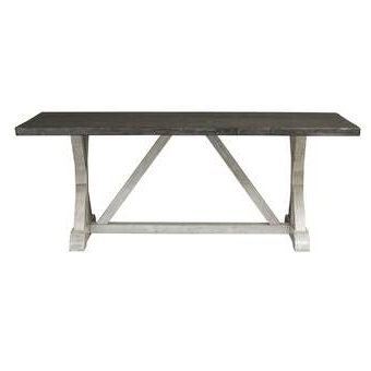 Most Current Kelly Clarkson Home Jaclin Extendable Dining Table Throughout Alexxes 38'' Trestle Dining Tables (View 15 of 25)