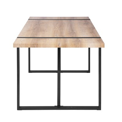 Most Current Rectangular Rustic & Farmhouse Kitchen & Dining Tables You Intended For Rishaan Dining Tables (View 14 of 25)