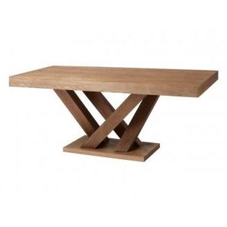 Most Current Sevinc Pedestal Dining Tables With Rectangle Dining Table With Pedestal Base (View 25 of 25)