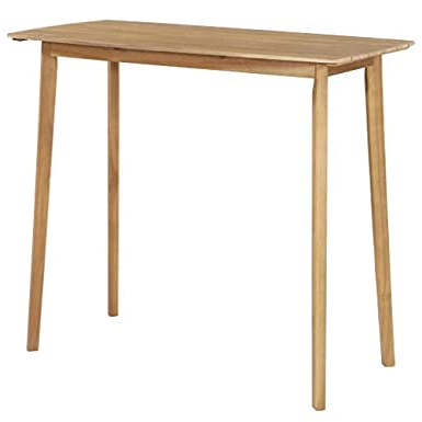Most Popular Amazon : Festnight Outdoor Indoor Wood Bar Table Intended For Crilly (View 17 of 25)