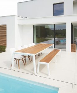 Most Popular Bermudafied Dining Table In (View 7 of 25)