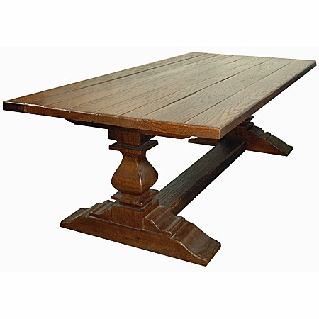 Most Popular Double Pedestal Dining Table – J (View 14 of 25)