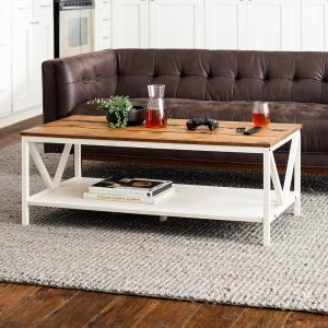 """Most Popular Elite Rectangle 48"""" L X 24"""" W Tables Pertaining To Welwick Designs Reclaimed Barnwood/white Wash Distressed (View 14 of 25)"""