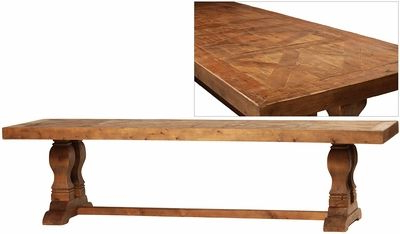Most Popular Finkelstein Pine Solid Wood Pedestal Dining Tables Inside Alessta Dining Table (View 6 of 25)