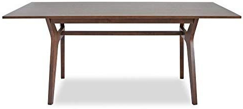 Most Popular Genao 35'' Dining Tables With Regard To Amazon – Edloe Finch Mid Century Modern Dining Table (View 8 of 25)