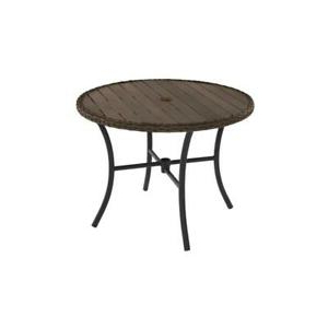 Most Popular Hetton 38'' Dining Tables Within Hampton Bay Laguna Point 38 In (View 22 of 25)