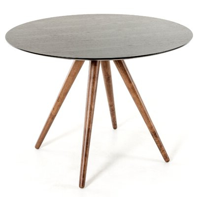 Most Popular Midtown Solid Wood Breakroom Tables With Round Walnut Kitchen & Dining Tables You'll Love In (View 6 of 25)