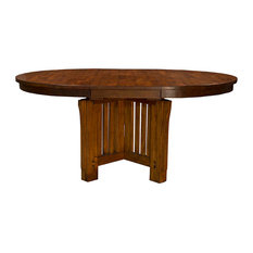 Most Popular Most Popular Craftsman Dining Room Tables For (View 13 of 25)