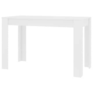 Most Popular Shop Simple Living Felix Glossy White Dining Table Throughout Crilly (View 21 of 25)