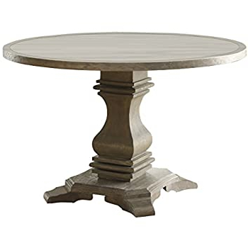 Most Popular Tabor 48'' Pedestal Dining Tables In Amazon: Hillsdale Furniture 4808dtb48 Embassy (View 15 of 25)