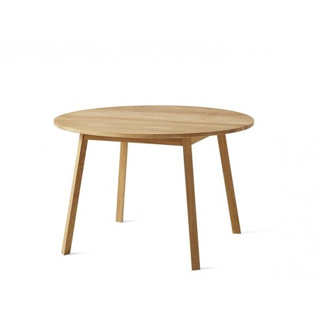 Most Popular Triangle Leg Dining Table Ø 115 Cm 4/6 Seat – Galerie Møbler Intended For Nazan 46'' Dining Tables (View 7 of 25)
