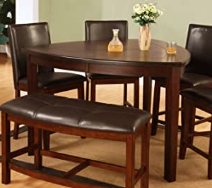 Most Recent Abby Bar Height Dining Tables Throughout Amazon – Best Quality Furniture Modern Triangle Dining (View 3 of 25)