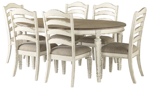 Most Recent Adsila 24'' Dining Tables Inside D743 35 Ashley Realyn Oval Dining Table W/ 24″leaf (View 15 of 25)
