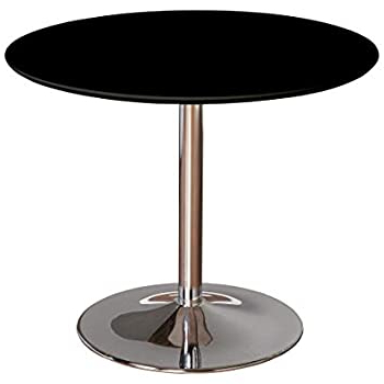 Most Recent Akitomo 35.4'' Dining Tables Regarding Amazon: Tms Pisa Modern Retro Round Dining Table, (View 8 of 25)