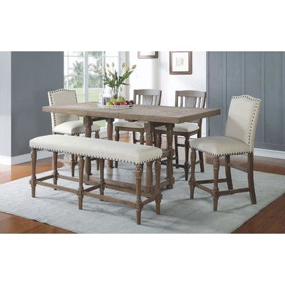 Most Recent Counter Height Extendable Dining Tables Inside You'll Love The Atwell Counter Height Extendable Dining (View 14 of 25)