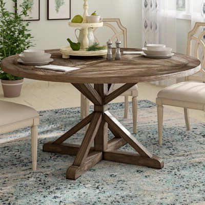 Most Recent Greyleigh Havana Pine Solid Wood Dining Table In 2020 Regarding Finkelstein Pine Solid Wood Pedestal Dining Tables (View 3 of 25)