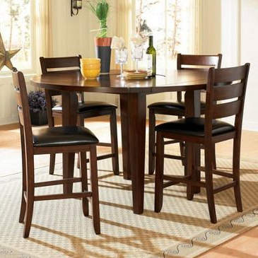 Most Recent Home Elegance Counter Height Table Settable Only With Within Barra Bar Height Pedestal Dining Tables (View 7 of 25)