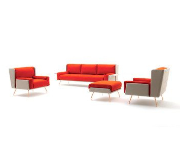 Most Recent Mode Breakroom Tables For The Architecture & Associés Lounge Collection (View 11 of 25)