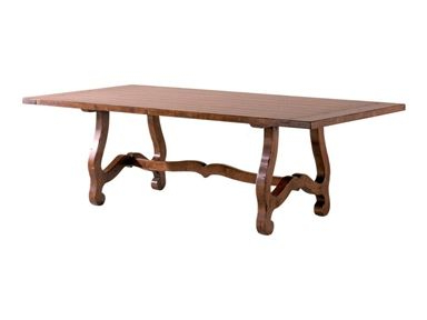 Most Recent Shop For Chaddock Country English Trestle Table, Ce0932 Intended For Leonila 48'' Trestle Dining Tables (View 3 of 25)