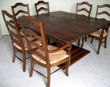 Most Recent Square Dining Table With Pedestal Base – Ecustomfinishes Throughout Pedestal Dining Tables (View 13 of 25)