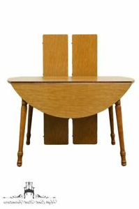 """Most Recent Tylor Maple Solid Wood Dining Tables Pertaining To Tell City Solid Hard Rock Maple 79"""" Drop Leaf Dining Table (View 12 of 25)"""