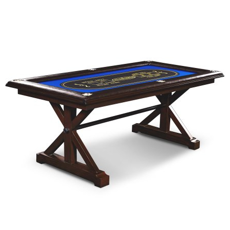 """Most Recently Released 48"""" 6 – Player Poker Tables Inside Barrington Premium Solid Wood Poker Table Sale $ (View 5 of 25)"""