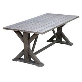 Most Recently Released Alexxes 38'' Trestle Dining Tables In Picture Of Camden Wood Trestle Table 74x38 In (View 9 of 25)