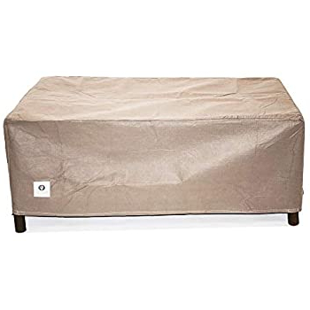 """Most Recently Released Amazon : Duck Covers Elite Rectangular Fire Pit Cover With Elite Rectangle 48"""" L X 24"""" W Tables (View 19 of 25)"""