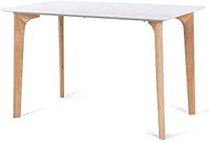 Most Recently Released Amazon – Giantex Modern Dining Table Mid Century Home With Regard To Larkin (View 23 of 25)