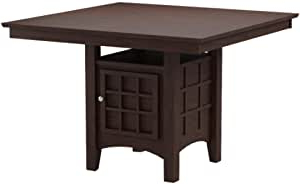 Most Recently Released Amazon – Mix & Match Counter Height Dining Table With With Regard To Dawid Counter Height Pedestal Dining Tables (View 11 of 25)