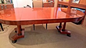 Most Recently Released Baker Historic Charleston 90 X 46 Double Pedestal Dining With Regard To Nazan 46'' Dining Tables (View 3 of 25)