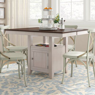 Most Recently Released Bradly Extendable Solid Wood Dining Tables Inside August Grove Adalgar Extendable Dining Table Color: Mocha (View 17 of 25)