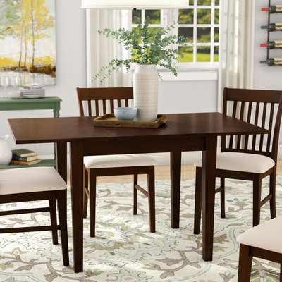 Most Recently Released Butterfly Leaf Extendable Kitchen & Dining Tables You'll In Katarina Extendable Rubberwood Solid Wood Dining Tables (View 7 of 25)