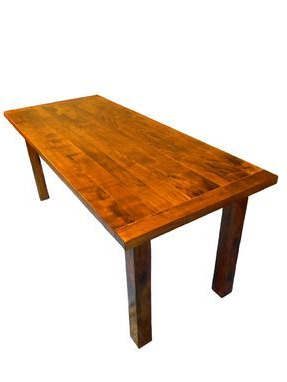 Most Recently Released Drake Maple Solid Wood Dining Tables Pertaining To Custom Made Solid Rustic/modern Maple Dining Table (View 8 of 25)
