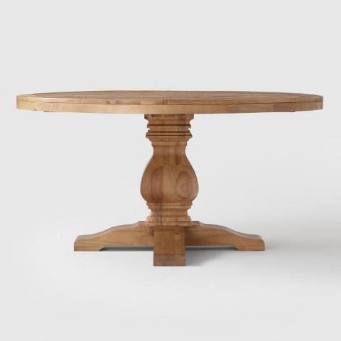 Featured Photo of Finkelstein Pine Solid Wood Pedestal Dining Tables