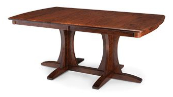 Most Recently Released Geneve Maple Solid Wood Pedestal Dining Tables Regarding Sad42724grc (View 3 of 25)