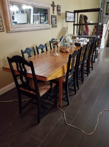 Most Recently Released Mcmichael 32'' Dining Tables Pertaining To Dining Room Table And Chairs 10ft X 32 In – Nex Tech (View 10 of 25)