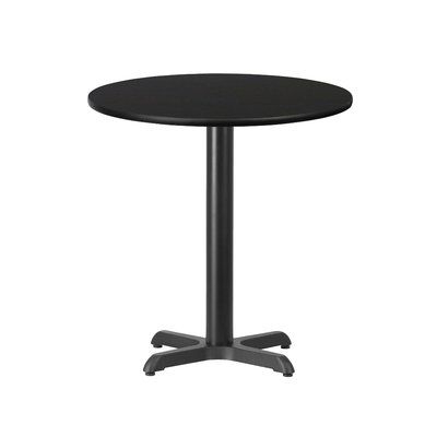 Most Recently Released Midtown Solid Wood Breakroom Tables Pertaining To Ebern Designs Jacques Dining Table (View 19 of 25)