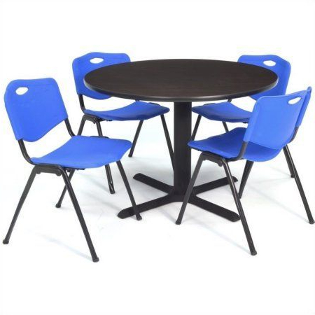 Featured Photo of Round Breakroom Tables And Chair Set