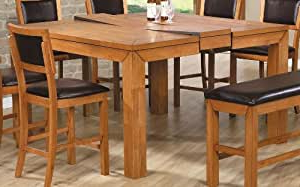 Most Recently Released Warnock Butterfly Leaf Trestle Dining Tables In Amazon: Lifestyle California Chapman Counter Height (View 18 of 25)