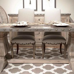 Most Recently Released Weathered Grey Dining Room Table (View 7 of 25)